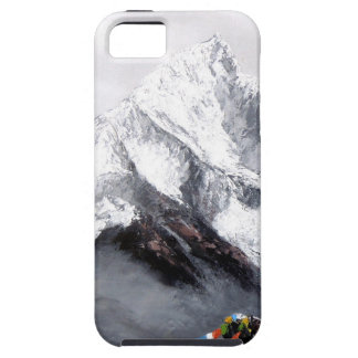 Panoramic View Of Everest Mountain iPhone 5 Cases