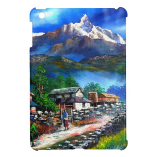 Panoramic View Of Everest Mountain Nepal Cover For The iPad Mini