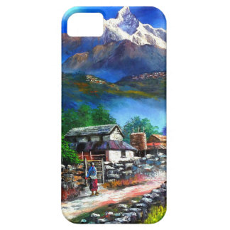 Panoramic View Of Everest Mountain Nepal iPhone 5 Covers
