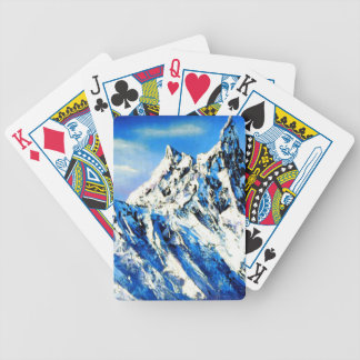 Panoramic View Of Everest Mountain Peak Bicycle Playing Cards
