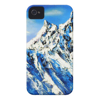 Panoramic View Of Everest Mountain Peak iPhone 4 Cover