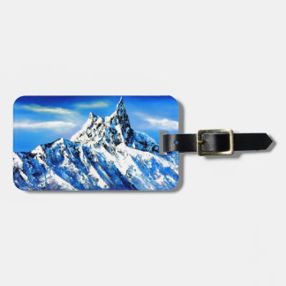 Panoramic View Of Everest Mountain Peak Luggage Tag