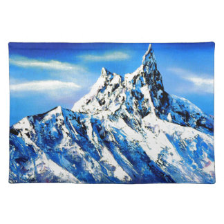 Panoramic View Of Everest Mountain Peak Placemat