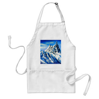 Panoramic View Of Everest Mountain Peak Standard Apron