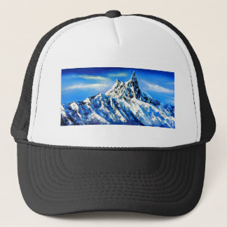 Panoramic View Of Everest Mountain Peak Trucker Hat