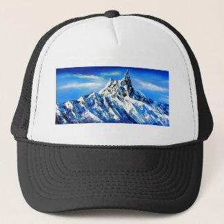 Panoramic View Of Everest Mountain Peak Trucker Hat