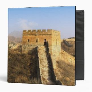 Panoramic view of Great Wall, China 2 Vinyl Binders