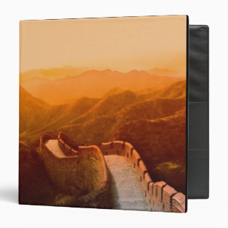 Panoramic view of Great Wall, China Vinyl Binders