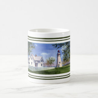 Panoramic View of Marblehead lighthouse Coffee Mug