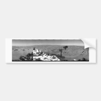 Panoramic View of Mars Bumper Sticker