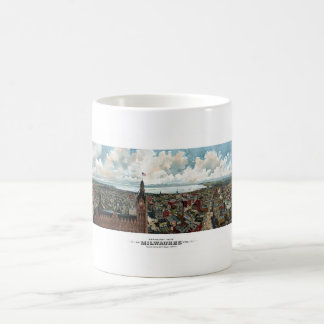 Panoramic View Of Milwaukee Wisconsin Coffee Mug