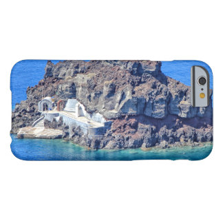 Panoramic view of Santorini Barely There iPhone 6 Case