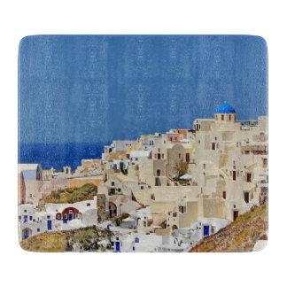 Panoramic view of Santorini Boards