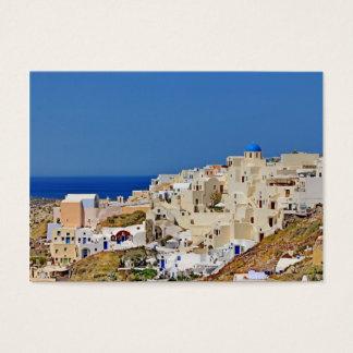 Panoramic view of Santorini Business Card