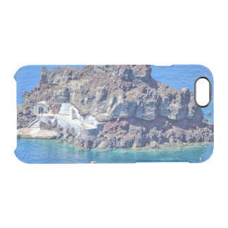 Panoramic view of Santorini Clear iPhone 6/6S Case