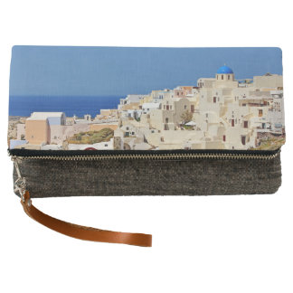 Panoramic view of Santorini Clutch