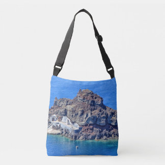 Panoramic view of Santorini Crossbody Bag