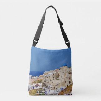 Panoramic view of Santorini Crossbody Bag