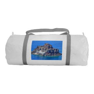 Panoramic view of Santorini Gym Bag