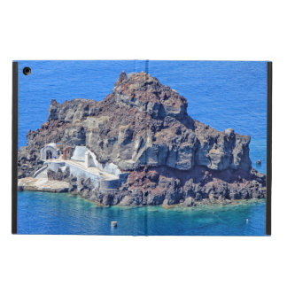 Panoramic view of Santorini iPad Air Cover
