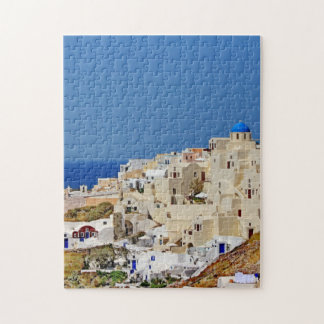 Panoramic view of Santorini Jigsaw Puzzle