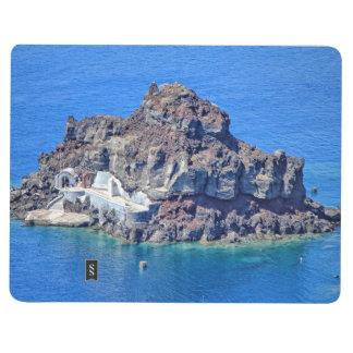 Panoramic view of Santorini Journal