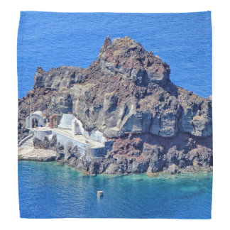 Panoramic view of Santorini Kerchief