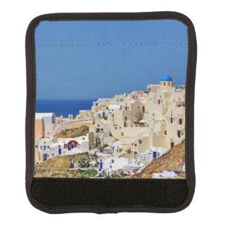 Panoramic view of Santorini Luggage Handle Wrap