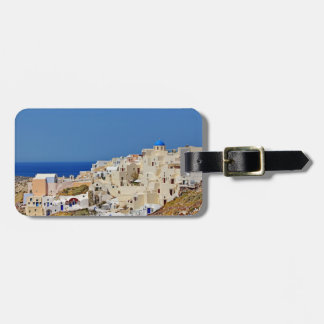 Panoramic view of Santorini Luggage Tag