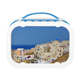 Panoramic view of Santorini Lunch Box