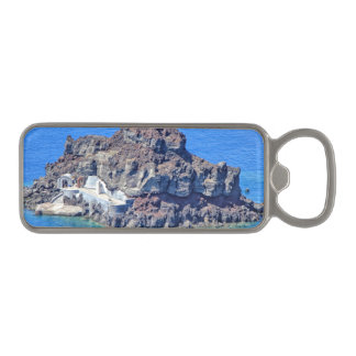 Panoramic view of Santorini Magnetic Bottle Opener