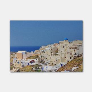 Panoramic view of Santorini Post-it Notes