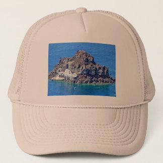 Panoramic view of Santorini Trucker Hat