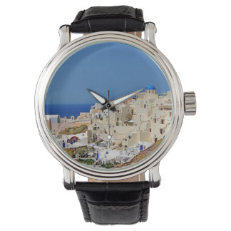 Panoramic view of Santorini Watch