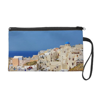 Panoramic view of Santorini Wristlet Clutch