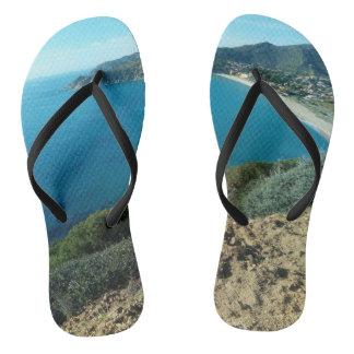 Panoramic view of Sardinia sea Flip Flops