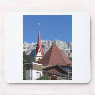 Panoramic view of Selva di Val Gardena Mouse Pad