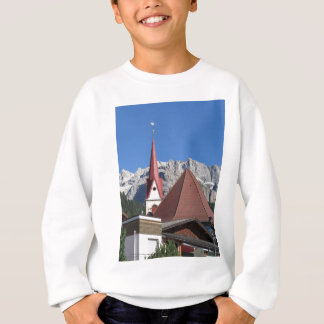 Panoramic view of Selva di Val Gardena Sweatshirt