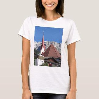 Panoramic view of Selva di Val Gardena T-Shirt
