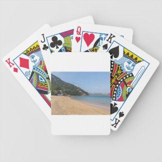 Panoramic view of Sok Kwu Wan Lamma Island Bicycle Playing Cards