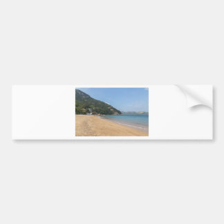 Panoramic view of Sok Kwu Wan Lamma Island Bumper Sticker