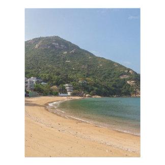 Panoramic view of Sok Kwu Wan Lamma Island Letterhead