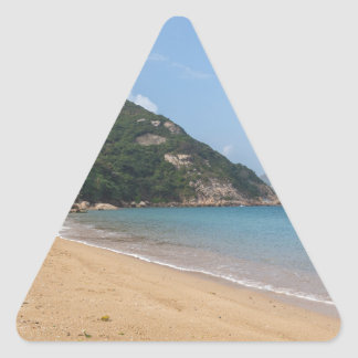 Panoramic view of Sok Kwu Wan Lamma Island Triangle Sticker