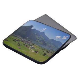 Panoramic view of Spiez Laptop Sleeve