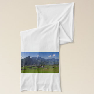 Panoramic view of Spiez Scarf