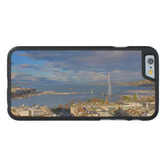 Panoramic view of the Geneva water jet Carved Maple iPhone 6 Case
