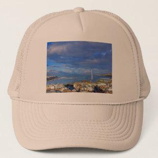 Panoramic view of the Geneva water jet Trucker Hat
