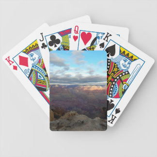 Panoramic view of the Grand Canyon Bicycle Playing Cards