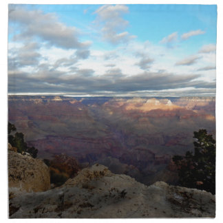 Panoramic view of the Grand Canyon Napkin