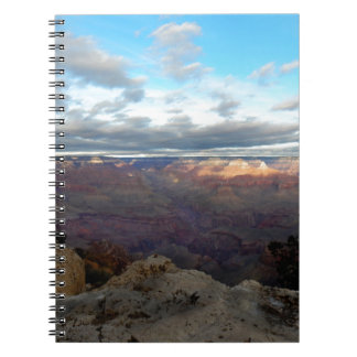 Panoramic view of the Grand Canyon Notebook
